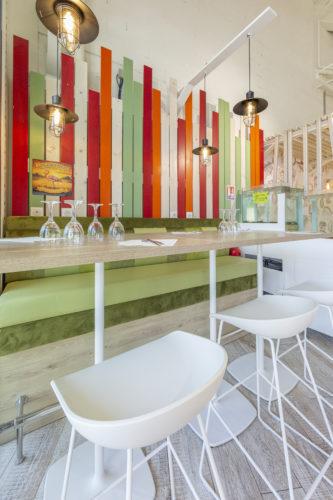 design d'intérieur restaurant L'Ostréa Hyères