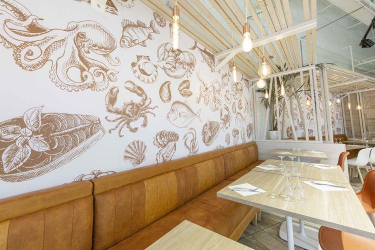 design d'intérieur restaurant de type Écaillé