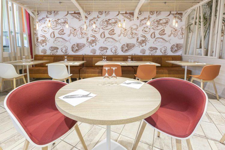décoration restaurant de type Écaillé à l'Hyères