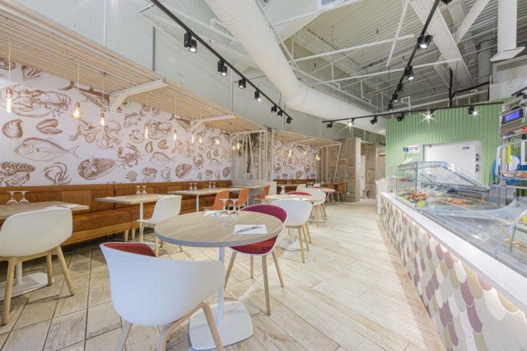 décoration restaurant L'Ostréa