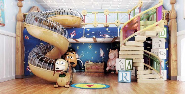 salle de eu enfant