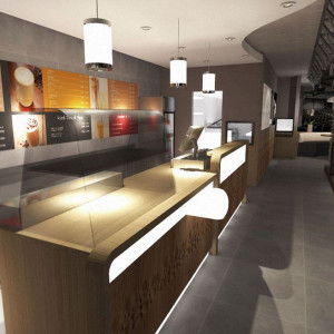 Agencement restaurant bar brasserie par un archi d 39 int rieur - Bar d interieur ...