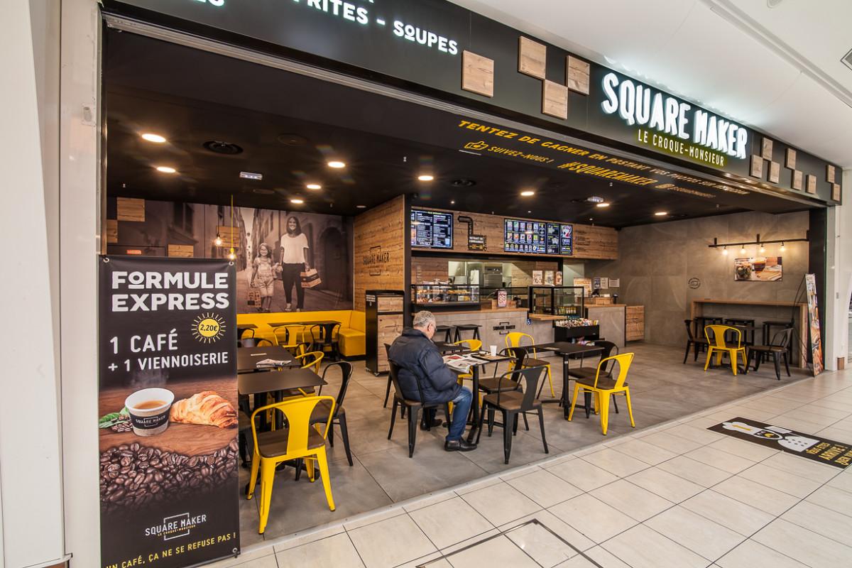 Design D Espace Toulouse agencement commercial restaurant fast food squaremaker toulouse