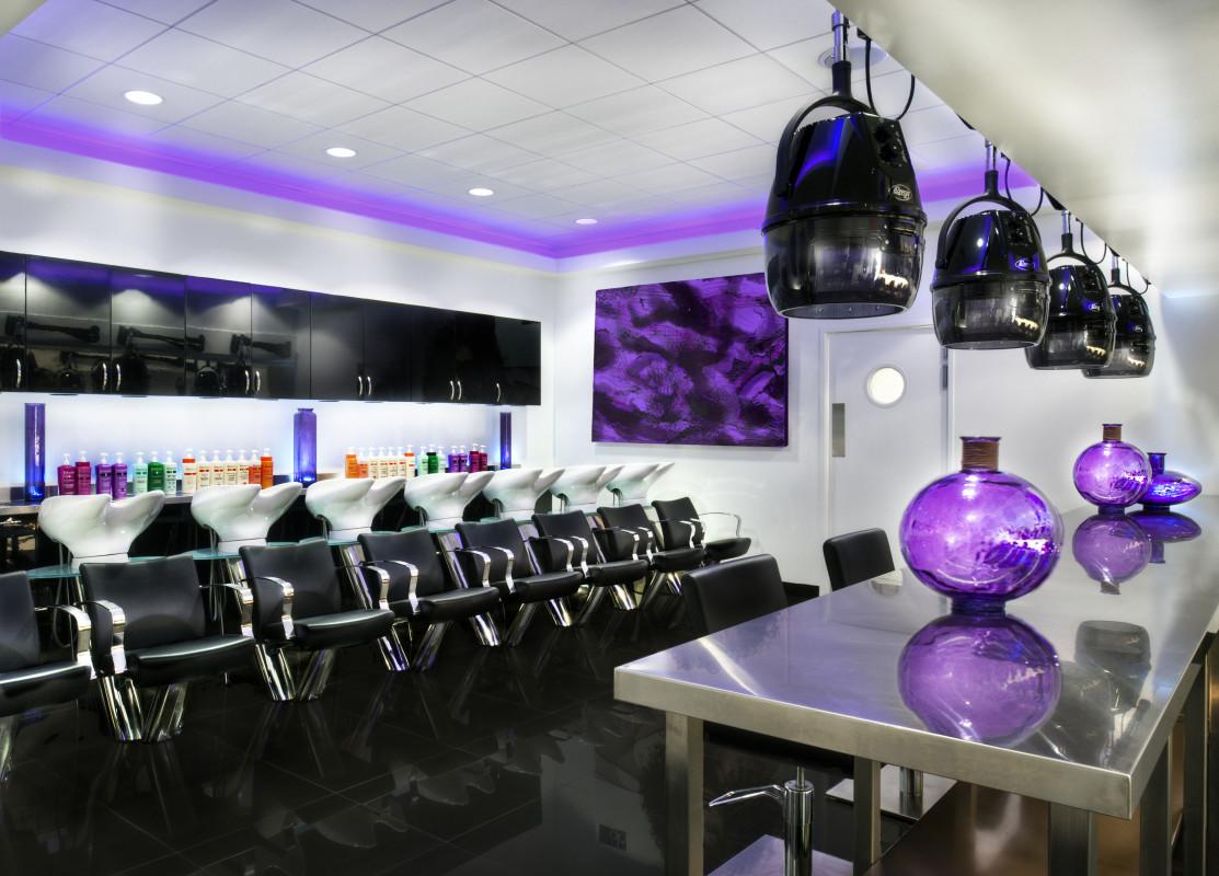 agencement et décoration salon de coiffure et barber shop